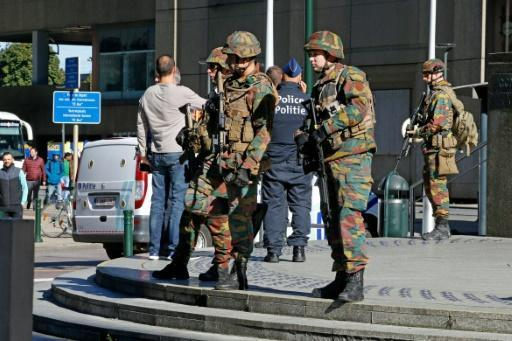 Brussels police stabbing suspect charged over 'terrorist attack'