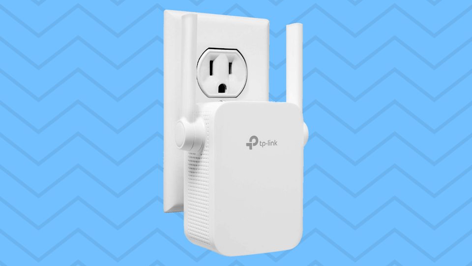 No alcove, apse or artery in your home will be left without max-speed Wi-Fi with this TP-Link extender. (Photo: Amazon)