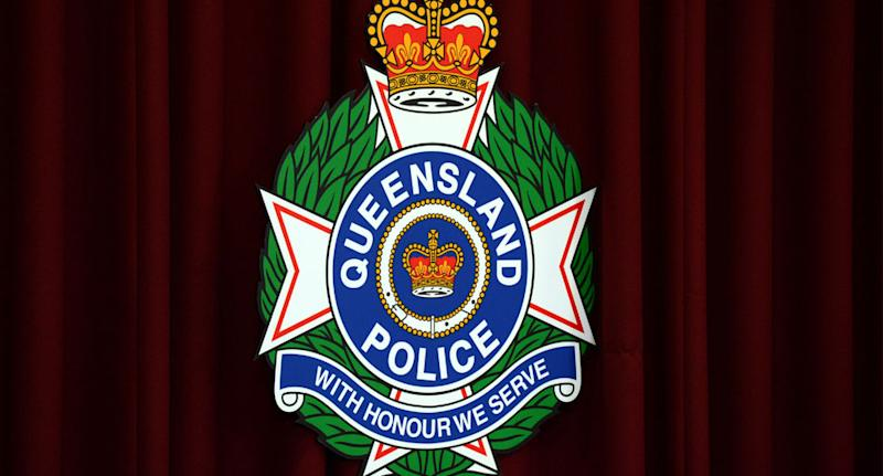 A stock image of a Queensland Police logo. A boy who went missing in his pyjamas has been found safe.