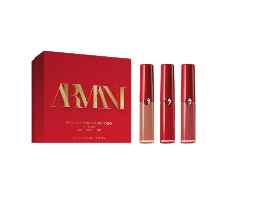 "<p><strong>Armani Beauty</strong></p><p>nordstrom.com</p><p><strong>$36.00</strong></p><p><a href=""https://go.redirectingat.com?id=74968X1596630&url=https%3A%2F%2Fwww.nordstrom.com%2Fs%2Fgiorgio-armani-mini-lip-maestro-trio-usd-62-value%2F5805948&sref=https%3A%2F%2Fwww.prevention.com%2Fbeauty%2Fg34648443%2Fbest-beauty-gifts%2F"" rel=""nofollow noopener"" target=""_blank"" data-ylk=""slk:SHOP NOW"" class=""link rapid-noclick-resp"">SHOP NOW</a></p><p>Renew their love of lipstick after a long year of <a href=""https://www.prevention.com/health/g32214894/where-to-buy-face-masks-for-coronavirus/"" rel=""nofollow noopener"" target=""_blank"" data-ylk=""slk:wearing a face mask"" class=""link rapid-noclick-resp"">wearing a face mask</a>. This kit comes with three creamy, classic shades: a true red, rosy coral, and everyday nude. </p>"