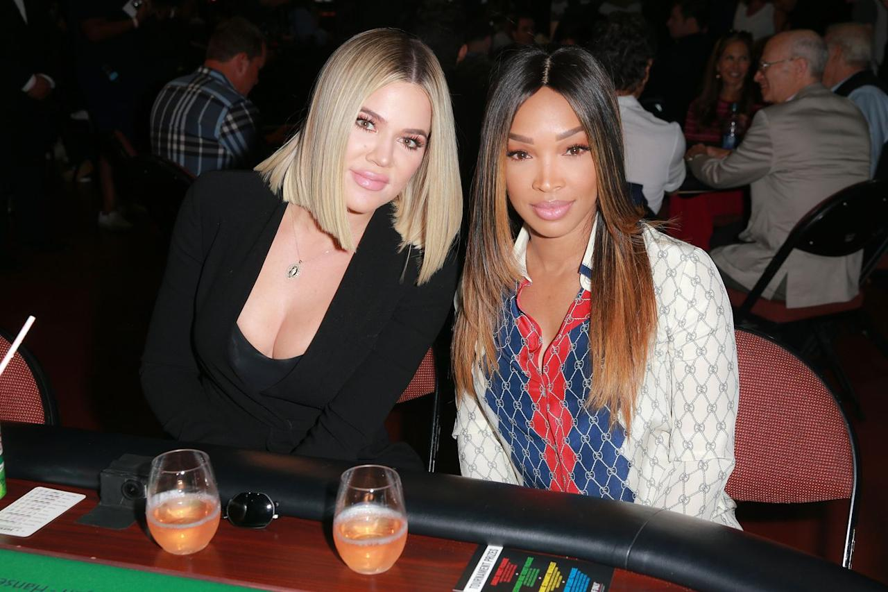 "<p>If we could only use one word to describe Khloe Kardashian's <a rel=""nofollow"" href=""https://www.womansday.com/style/beauty/tips/a7228/blond-for-your-skin-tone-cosmo/"">sleek blonde bob</a>, it'd be chic. To recreate, part your hair in the center and style with a straightener, then finish with a spray of hair shine mist.</p><p><strong>What you'll need</strong>: Hair shine mist ($13, <a rel=""nofollow"" href=""https://www.amazon.com/TIGI-Head-Shine-Unisex-Ounce/dp/B000VZDWB8"">amazon.com</a>)</p>"