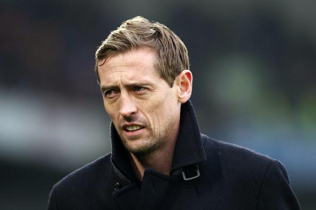 Crouch's podcast has proved popular with football fans. Gareth Fuller/PA Wire