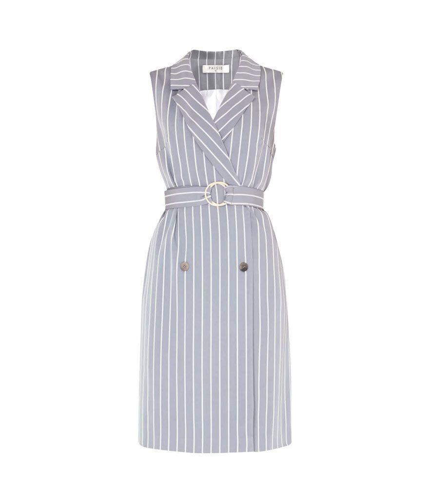 Paisie Sleeveless Striped Jacket Dress (Photo: Wolf and Badger)