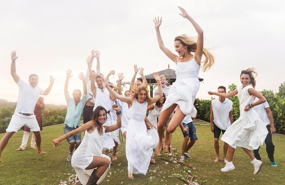 A woman has turned to the Internet to ask if it's ok to wear white to a wedding [Photo: Getty]