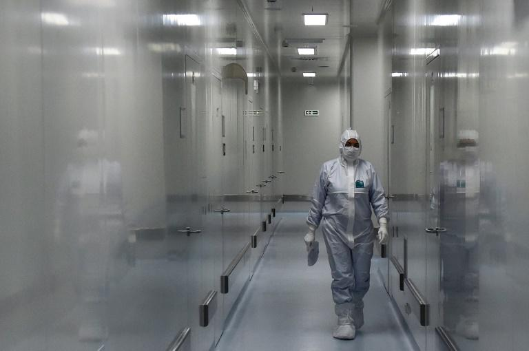 Most vaccine candidates under development -- more than half involving humans are in China -- are in Phase 1 trials, designed to test safety ahead of two tests for efficacy (AFP Photo/OLGA MALTSEVA)