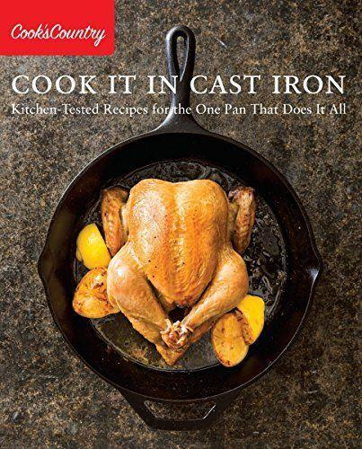 """<p><strong>Cook's Country</strong></p><p>amazon.com</p><p><strong>$16.39</strong></p><p><a href=""""https://www.amazon.com/dp/1940352487?tag=syn-yahoo-20&ascsubtag=%5Bartid%7C2164.g.32883915%5Bsrc%7Cyahoo-us"""" rel=""""nofollow noopener"""" target=""""_blank"""" data-ylk=""""slk:Shop Now"""" class=""""link rapid-noclick-resp"""">Shop Now</a></p><p>Get him excited about using your family's cast-iron skillet with this easy-to-follow cookbook. He'll learn everything there is to know about the kitchen essential.</p>"""