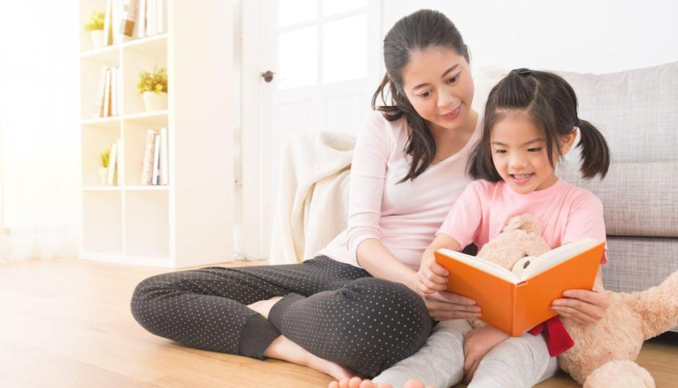 """<span class=""""caption"""">A holistic approach to growing children's vocabulary could mean reading children stories about bears from fairy tales, science books and the news. </span> <span class=""""attribution""""><span class=""""source"""">(Shutterstock)</span></span>"""