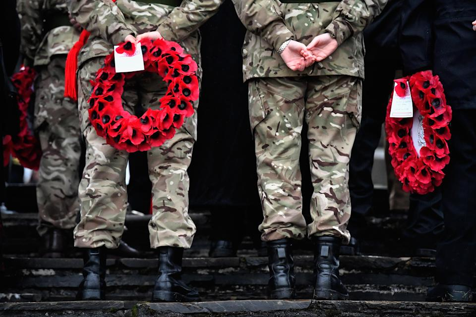 Remembrance Day will be honoured all over the country. Getty Images