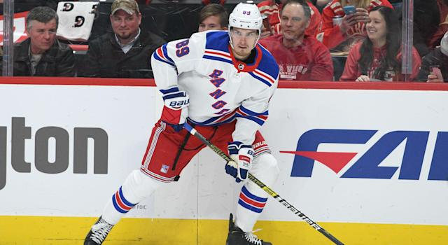 Pavel Buchnevich has agreed to a new deal with the New York Rangers. (Tim Fuller-USA TODAY Sports)