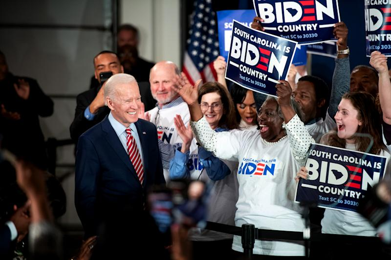 NBC News poll: Biden holds narrow lead over Sanders in South Carolina