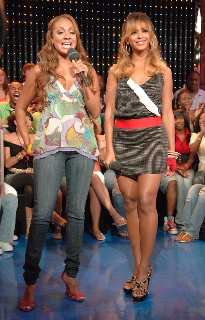 <p>Can't forget that La La Anthony was fully an MTV VJ! She hosted <em>TRL</em> in 2002 before making the jump to VH1, where she eventually blessed us with <em>La La's Full Court Weddin</em>g.</p>