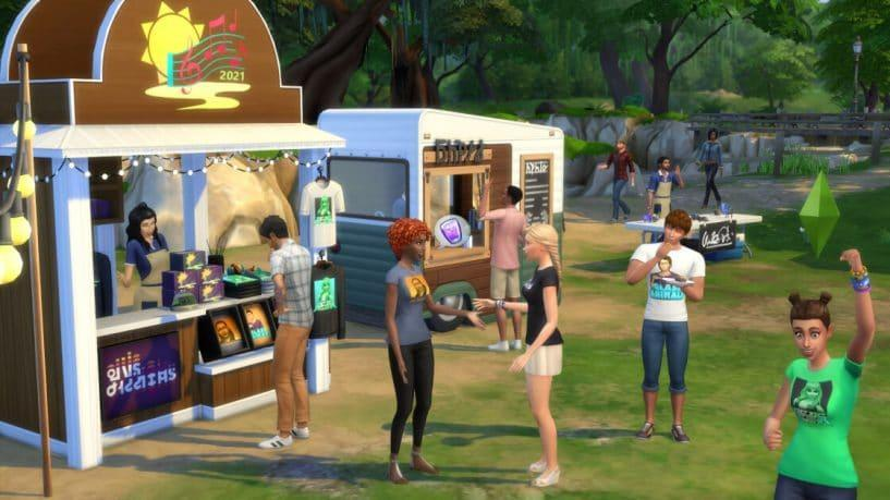 festival simmers the sims