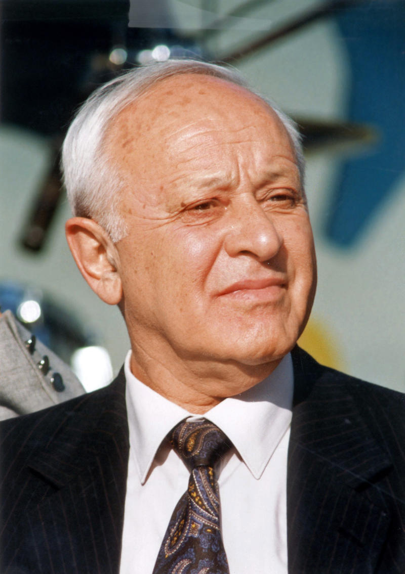 FILE - In this undated file photo, Dov Shilansky, a Holocaust survivor and former speaker of the Israeli parliament, is seen.  Shilansky died in Tel-Aviv, Israel, on Thursday, Dec. 9 2010, at the age of 86. (AP Photo/ Reuven Castro, File) **ISRAEL OUT**