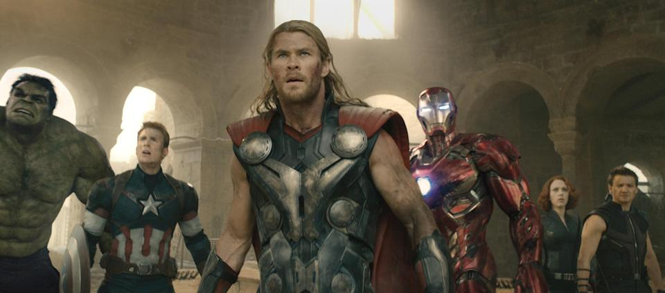 Avengers… already back in the saddle for the fourth movie – Credit: Disney