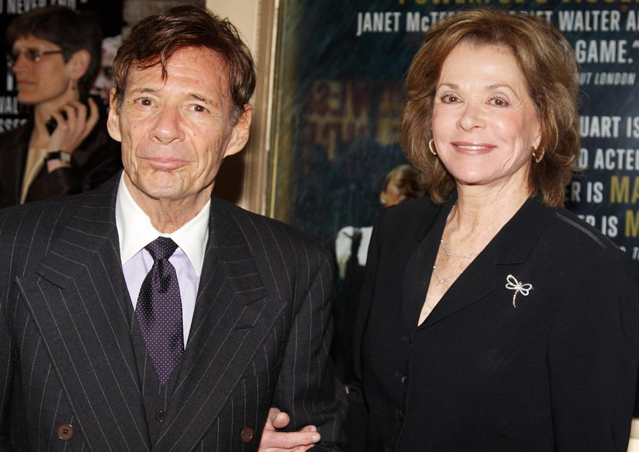 Ron Leibman and Jessica Walter attend the opening night of Mary Stuart on Broadway at the Broadhurst Theatre on April 19, 2009 in New York City. (Photo by Bruce Glikas/FilmMagic)