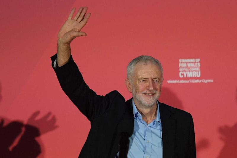 Britain's opposition Labour party leader Jeremy Corbyn (AFP via Getty Images)