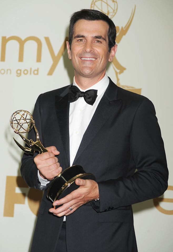 Ty Burrell (whose real name is Tyler) went from homeless to Hollywood actor. While he was getting his graduate degree at Penn State University, he saved money by living out of his van. (Photo by Jeffrey Mayer/WireImage)
