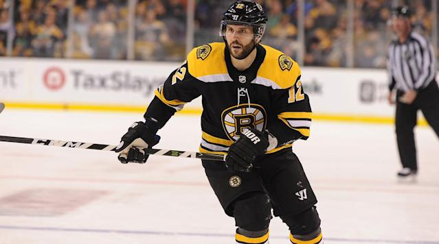 "<p>BOSTON — The past several months had already looped Brian Gionta through upstate New York and South Korea, but right now he is wearing a black No. 12 Bruins sweatshirt and clutching a mesh laundry bag inside TD Garden. It is an ordinary scene around any locker room, if not refreshingly familiar for the 39-year-old winger. ""There's nothing better than playing in the NHL and being around these guys,"" he says. ""For sure, it's nice to be back."" </p><p>Consider the particulars of his crammed itinerary: Two weeks ago, Gionta was busy captaining the U.S. men's hockey team at the Winter Olympics in PyeongChang, where its quarterfinal shootout loss to the Czech Republic finished on a Wednesday afternoon, local time. After boarding a hastilybumped-up flight home to Buffalo, he spent the weekend repacking his bags and <a href=""https://www.si.com/nhl/2018/02/25/boston-bruins-sign-brian-gionta"" rel=""nofollow noopener"" target=""_blank"" data-ylk=""slk:officially inked a one-year deal"" class=""link rapid-noclick-resp"">officially inked a one-year deal</a> with the Bruins that Sunday. By Monday his truck was steering toward Boston, a red-white-and-blue C hastily swapped for a spoked B.</p><p>Even in the seen-it-all hockey universe, though, only one person truly understands how Gionta feels. ""Yeah, it's been a whirlwind in terms of what's transpired,"" Chris Kelly laughs over the phone, calling from Anaheim during a rare moment of recent peace. ""A unique year, to say the least."" Similar to Gionta, he was a national team captain who found post-Olympics work with a playoff contender, signing for $1.25 million (prorated) <a href=""https://www.nhl.com/ducks/news/ducks-sign-kelly-to-one-year-contract/c-296355536"" rel=""nofollow noopener"" target=""_blank"" data-ylk=""slk:to join the Ducks"" class=""link rapid-noclick-resp"">to join the Ducks</a> after Team Canada captured the bronze medal. The contract, which includes a potential $275,000 in total bonuses tied to team playoff performances, was signed and sent via fax machine from the Olympic village. A former Stanley Cup winner like Gionta, he also missed the closing ceremonies.</p><p>Actually, Kelly can claim an even crazier schedule. His season began on a professional tryout with the Oilers, which featured several flirtations over a full-length contract that never quite consummated. When the sides parted ways in mid-November, Kelly told himself that he would keep working out until the end of the month and then seriously consider hanging up his skates for good. Time passed. The calendar turned. Then, on a Thursday in January, he received a call from Ottawa's AHL affiliate in Belleville, wondering if he wanted to play that weekend.</p><p>After five games, Kelly again reached a crossroads. Through agent Pat Morris, he connected with Canada GM Sean Burke and pivoted toward new goals. Next thing Kelly knew, he was representing Canada at the Spengler Cup in Switzerland and attending pre-Olympics training camp in Latvia, rejuvenated with retirement temporarily in the rearview mirror. ""He needed great mental fortitude to get through this year, because the end game was to get to the NHL when he started on a pro tryout,"" Morris says. ""Then it switched to, 'Let's make the worst-case scenario the Olympics,' which is a pretty neat thing for a 37-year-old. The best scenario is try to compete for a Stanley Cup too after winning an Olympic medal.""</p><p>Now he can. A veteran bottom-six forward of 12-plus seasons who spent '16-17 with the Senators, Kelly is a realistic person. ""As far as I can remember, it's been NHL players at the Olympics,"" he says. ""The best of the best. It's almost been too big to dream."" For this reason, he told Morris to handle all negotiations with interested suits while he focused on cherishing the moment. But talks kicked into overdrive after Canada lost in the semifinals against Germany, and Kelly was committed to the Ducks before scoring twice over the Czechs for bronze. He flew home to Ottawa on Feb. 26, spent one day doing laundry and obtaining a work visa, and left for Anaheim on the 28th, thrust straight into the Western Conference wild card race.</p><p>""Like the Olympics, you're playing meaningful games,"" Kelly says. ""That's all you can ask for. You want to feel you're playing for something. There's no better situation than this.""</p><p>Sound familiar? While Gionta competed at the Olympics—he led Team USA with 16 shots on goal but finished scoreless—his agent was busy gauging interest from NHL teamslimited to those that appeared headed to the playoffs. Among those were the Bruins, currently second in the Eastern Conference, whom Gionta had already turned down over the summer when he spurned several contract offers to remain with family. ""It was unique all the way around—his desire to not move the family, the fact I knew he could still play in the league, the fact it was an Olympic year,"" agent Steve Bartlett says. ""Everything's worked out perfectly.""</p><p>Rust indeed appears nonexistent so far in Beantown, where Gionta starred for Boston College from '97-01, paving the way for an entire generation. He has six points through six games, including a nifty breakaway backhander against Philadelphia last week for his first goal, followed by a low fist pump and a big smile. He has benefited from injuries and suspensions among fellow Bruins forwards, but also earned his keep on their third line and second power play unit. ""A true pro and looks like he hasn't missed any time,"" coach Bruce Cassidy said.</p><p>Kelly, meanwhile, collected his first point of the season, an assist in his sixth game on Anaheim's fourth line, averaging than nine minutes each night, but he has happily slotted onto veteran roster with old friends such as Patrick Eaves and Antoine Vermette. ""It's nice to come into a room and know the music,"" he says. ""Easy listening compared to a lot of the other stuff that I had no idea what they're saying or what's going on."" His must appear in 50% of playoff games for his round-by-round bonuses to trigger, but this journey is hardly about extra cash. Coming off a broken leg, Kelly had appeared in all 82 games last regular season but got scratched for all but two in the '16-17 postseason ""He said, 'I'm not ending my career that way,'"" Morris recalls, ""and he and worked his ass off.""</p><p>Along with a steady salary, both Gionta and Kelly brought plenty of keepsakes home from PyeongChang—signed sticks and jerseys, yes, but memorable experiences too. During his one day home, Kelly squeezed in a visit to his daughters' elementary school, where he spoke at an assembly and showed off the bronze medal. ""Just to see the reaction of the kids, the joy they got out of seeing that, not only my kids, but the kids at the school, it was pretty neat,"" he says.</p><p>Neither confess to have considered what will happen after the season ends. Maybe Anaheim and Boston will lead to another job, or maybe these pitstops will etch codas into their lengthy careers. ""That's the theme of the year: day-to-day, stay in the moment,"" Kelly says. ""Oftentimes I'm like, 'Wow, this is not the easiest thing to do.' But It's gotten me this far. It's gotten me here. I'll just continue to approach every day like that. It's not always what you planned out at the start.""</p><p>Besides, how much more unpredictable could it get?</p>"