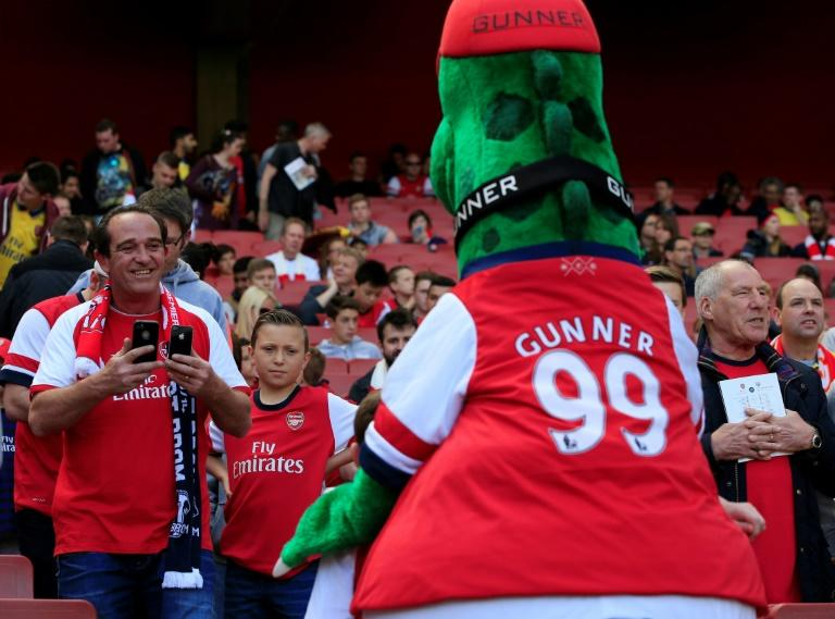 Arsenal fans fight to save Gunnersaurus from extinction