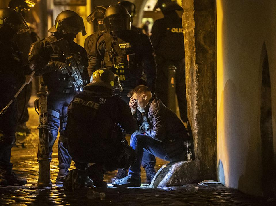 Czech police have detained 31 people: Getty