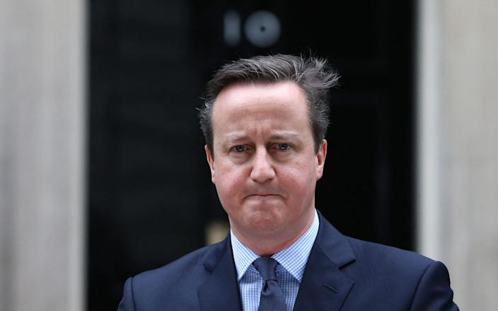 David Cameron's actions will be considered by the inquiry - GETTY IMAGES