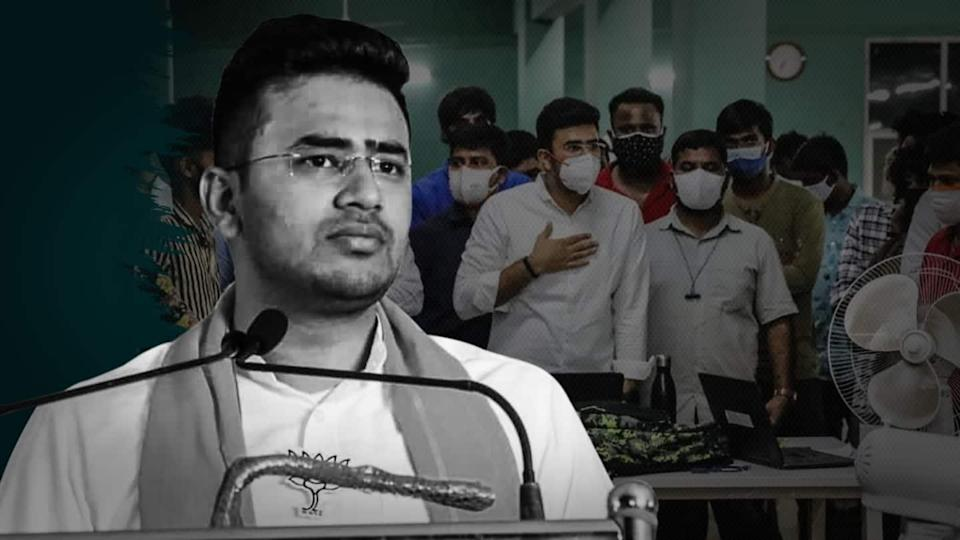 Bed allocation scam: Tejasvi Surya apologizes for accusing Muslim workers