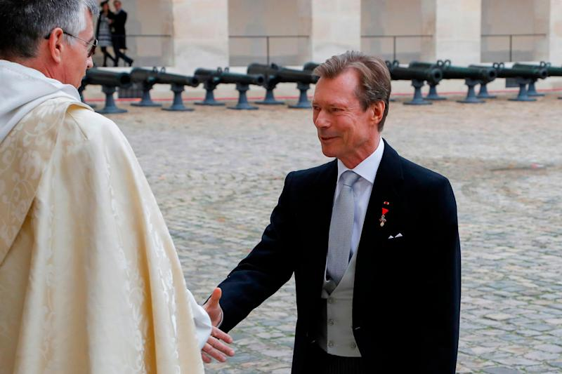 Grand Duke Henri of Luxembourg (AFP via Getty Images)