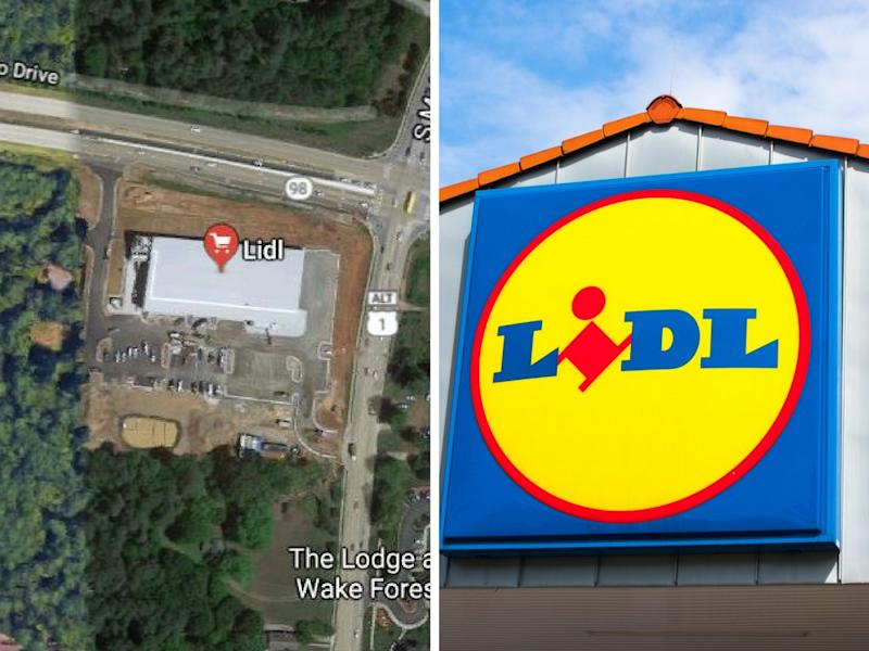 Lidl-Filiale in den USA