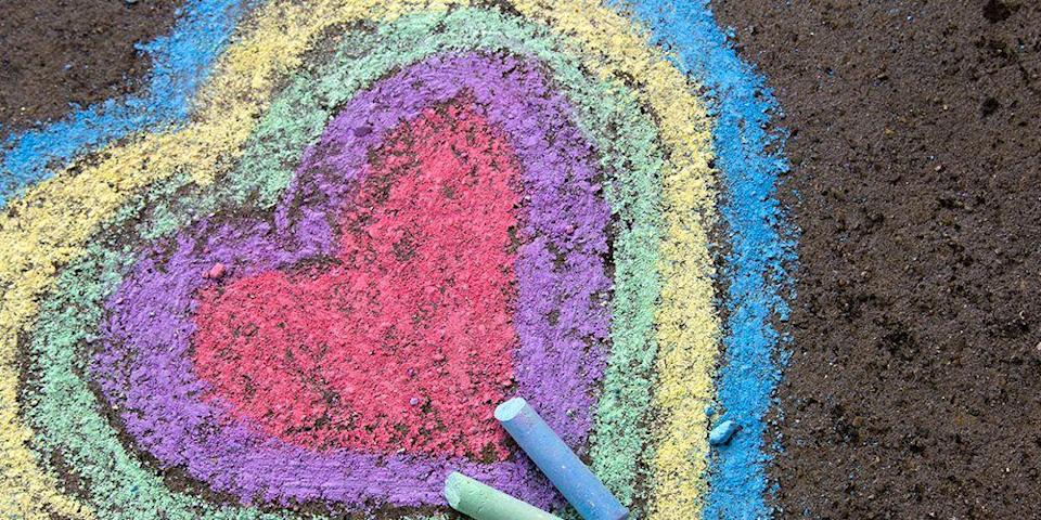 <p>Creating art with sidewalk chalk is a timeless tradition; even in the age of screens and so many other high-tech distractions, chalk art remains a family-favorite activity. That's not to say it hasn't evolved beyond stick figures and hopscotch. In fact, bloggers have come up with scores of inventive of ideas for taking chalk art to the next level — even in out-of-season conditions. Think innovative drawing and painting techniques, educational games and activities, inspirational messages, and of course incredible photo backdrops. (Pics or it didn't happen, right?) Consider these chalk art ideas for taking the fun to the next level — just right for amateur artists of all ages.</p>