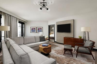 Fully redesigned Premier Mountain-View One-Bedroom Suite