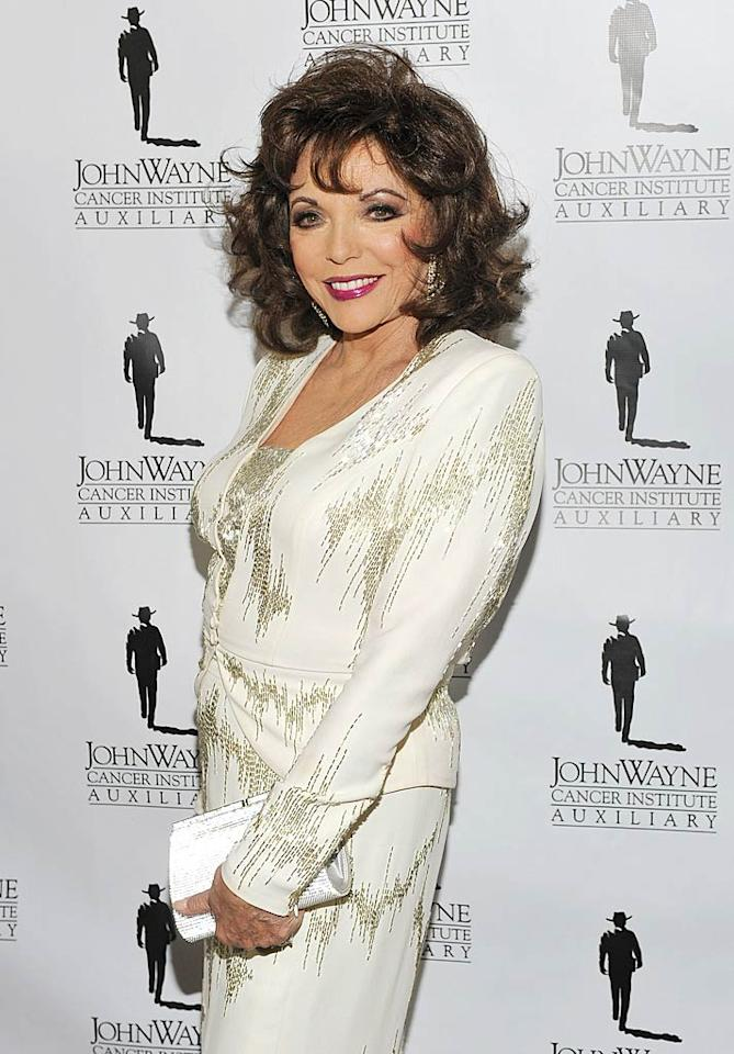"Joan Collins turns 78 John M. Heller/<a href=""http://www.gettyimages.com/"" target=""new"">GettyImages.com</a> - April 9, 2011"