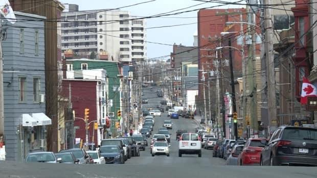 The streets might look a little busier across the province beginning Saturday, as residents return to Alert Level 2. (Jeremy Eaton/CBC - image credit)