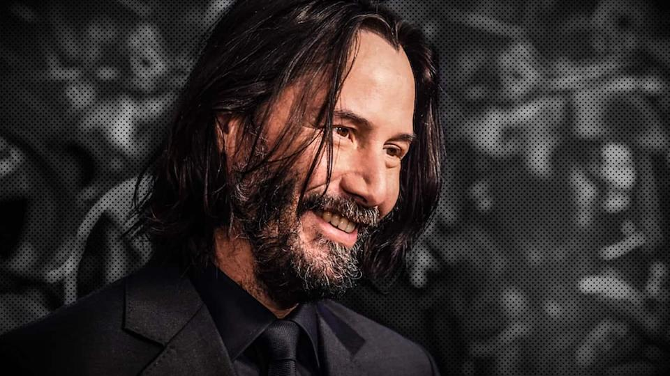 Keanu Reeves spotted filming on set for