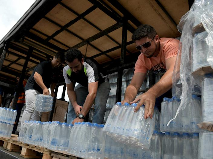 <p>Residents of Denmark, South Carolina have been battling against local officials for years over the injection of HaloSan into their drinking water supply.</p> (REUTERS)