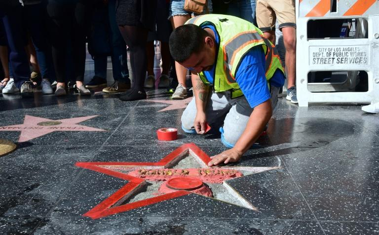 Repeat offender arrested for smashing Trump's Hollywood star
