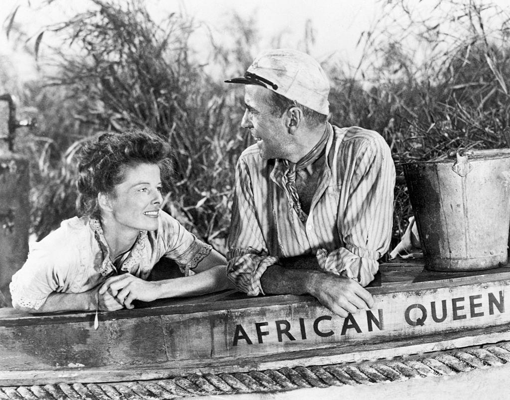 <p>The combination of Humphrey Bogart and Katharine Hepburn is downright irresistible. John Huston directs the dynamic duo in this adventure romance as they bicker their way down the river in the hopes of striking back against the Germans.</p>