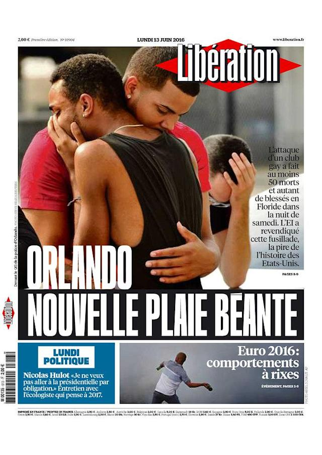 <p>Libération<br> Published in Paris, France.(newseum.org) </p>