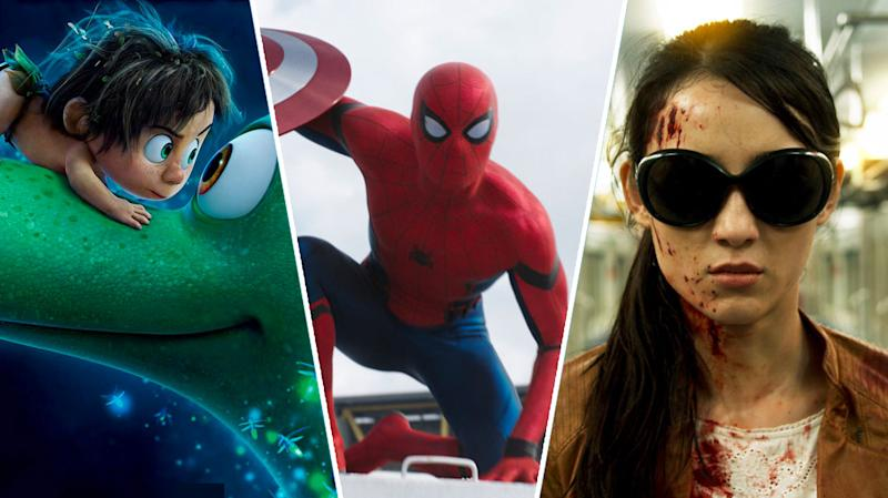 The Good Dinosaur, Captain America: Civil War, The Raid 2.