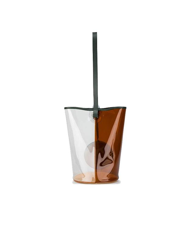 "<p><span>Brown Clear Basket, $556,</span><a href=""https://www.brownsfashion.com/shopping/brown-clear-basket-pvc-bucket-bag-12403912?size=17&storeid=9359%253utm_source=polyvore&utm_medium=cpc_%3DEVICE%3C&utm_campaign=%253KEYWORD%3C"" rel=""nofollow noopener"" target=""_blank"" data-ylk=""slk:brownsfashion.com"" class=""link rapid-noclick-resp""> <span>brownsfashion.com</span></a> </p>"