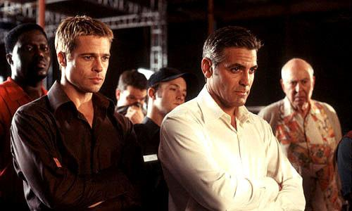 <p>OCEAN'S 11 (2001). The Rat Pack starred in the original 1960 version of this film. But in 2001, George Clooney, Brad Pitt, Matt Damon, Don Cheadle, Andy Garcia, Julia Roberts, Casey Affleck, Bernie Mac and Elliott Gould (phew!) came together to reignite the story.</p>