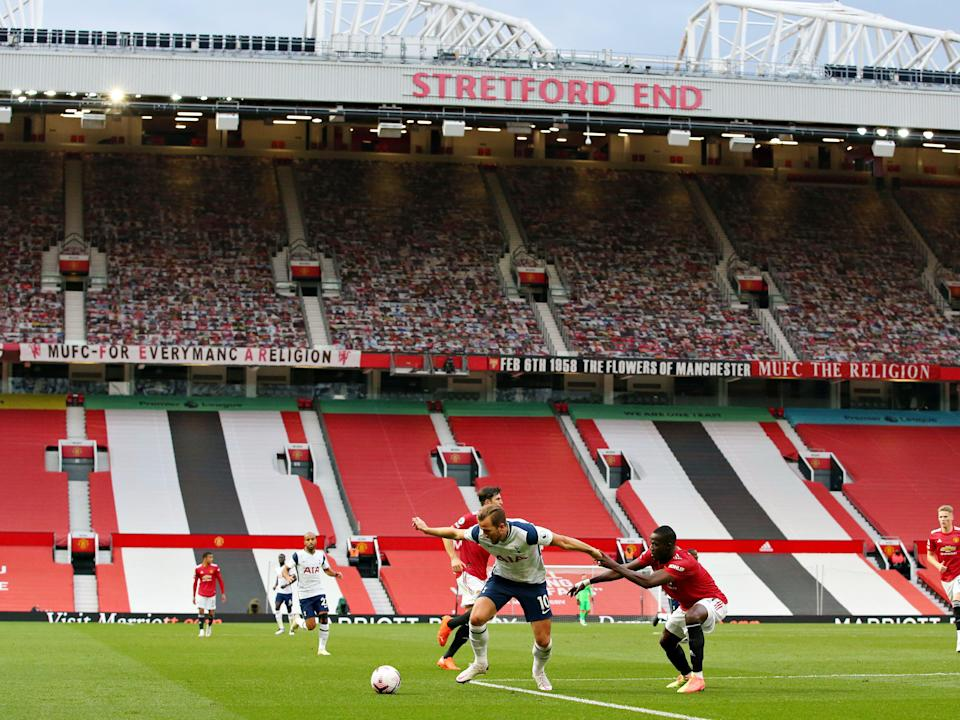 Manchester United's home ground Old Trafford (Getty Images)