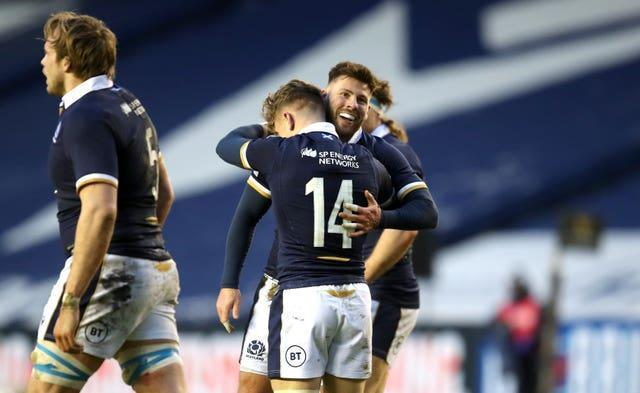 Darcy Graham scored the opening try for Scotland