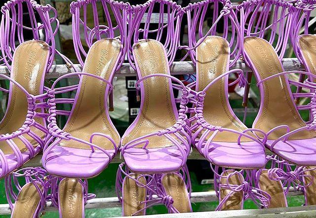 """<p>Jamaican-Canadian footwear designer Téjahn Burnett founded the namesake brand in 2018. Téjahn Burnett is a contemporary footwear line that specialises in women's high heel boots and hand-crafted sandals. And the SIMIJAH in lilac is just what my Summer wardrobe needs!</p><p><a href=""""https://www.instagram.com/p/CNC34RSF-0J/"""" rel=""""nofollow noopener"""" target=""""_blank"""" data-ylk=""""slk:See the original post on Instagram"""" class=""""link rapid-noclick-resp"""">See the original post on Instagram</a></p>"""
