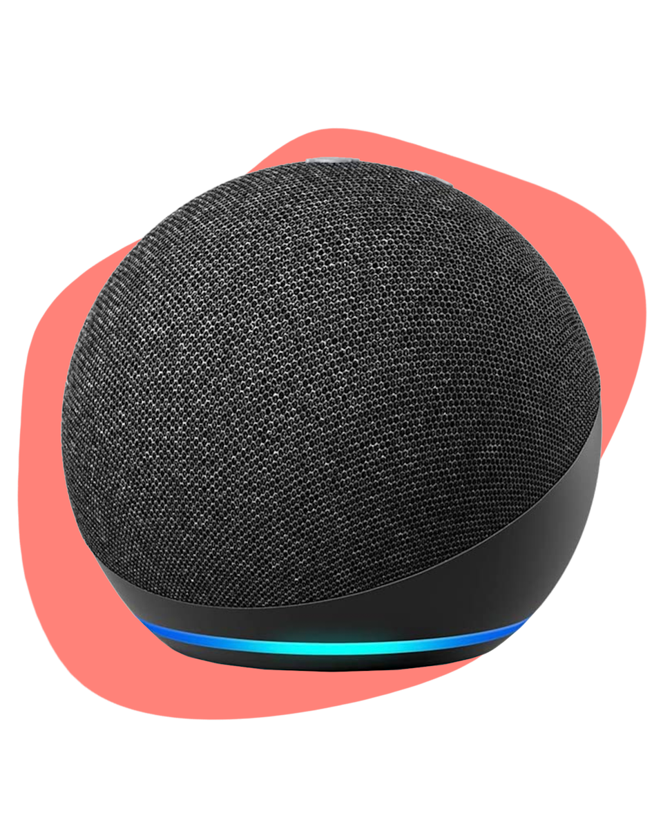 """The Amazon Echo has a sleek look, is voice-controlled, and is ready to help – your mom can ask it questions, check the news, set alarms, even sync it with her smart home. It's small, easy, and a surefire hit. $29.99, Amazon. <a href=""""https://www.amazon.com/dp/B07XJ8C8F5/ref=be?pf_rd_r=EWAFWH732611QH6Y33VR&pf_rd_p=2766766c-2bcd-49ca-aa83-83593d18e634"""" rel=""""nofollow noopener"""" target=""""_blank"""" data-ylk=""""slk:Get it now!"""" class=""""link rapid-noclick-resp"""">Get it now!</a>"""
