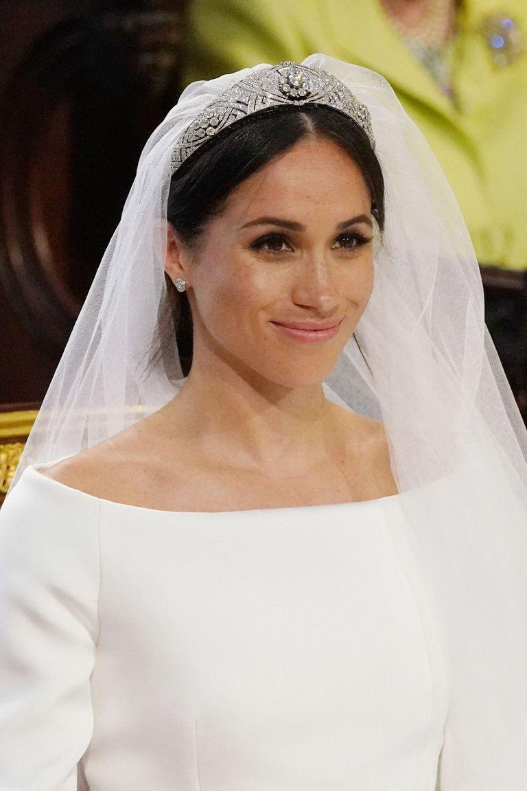 <p>Meghan Markle's low bun at her wedding to Prince Harry caused quite the stir. Some thought it was too messy (the falling face-framing tendrils, mostly) while others thought the loose style was the perfect romantic style.</p>