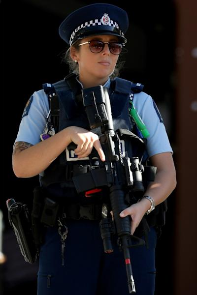 New Zealand police pride themselves on operating a largely unarmed service, but special armed squads can be deployed when needed (AFP Photo/Sanka VIDANAGAMA)