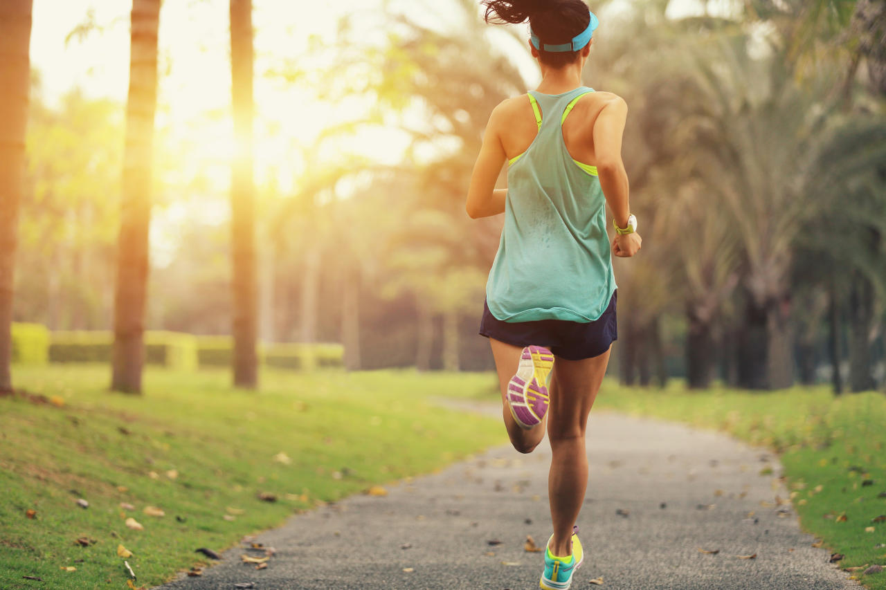 <p>Being exposed to natural light also boosts your production of serotonin and melatonin. Try going for a walk after dinner because it will not only help you to digest your supper but get you naturally ready for bed, <em>The Sun</em> reports. Photo: Getty </p>