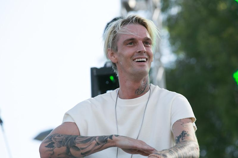 Aaron Carter denies flipping rescue dogs for profit: 'Don't try to slander my name'