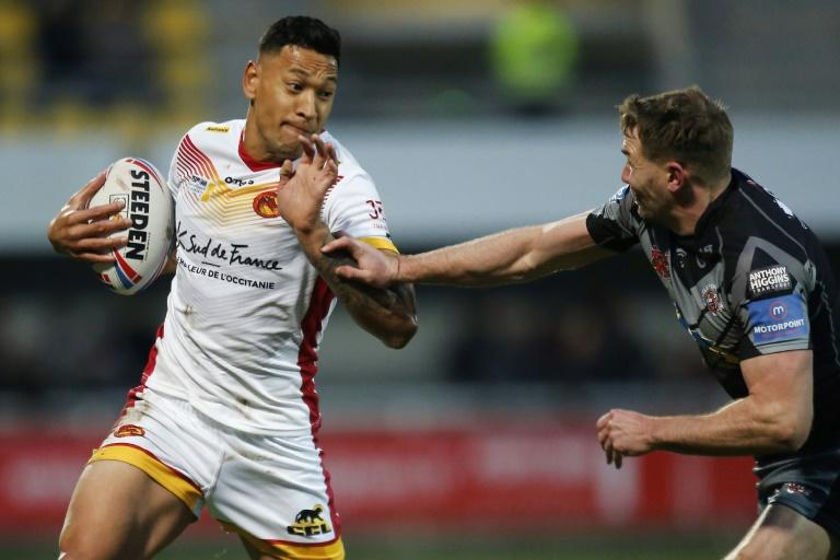 No knee for Catalans Dragons' Australian full-back Israel Folau