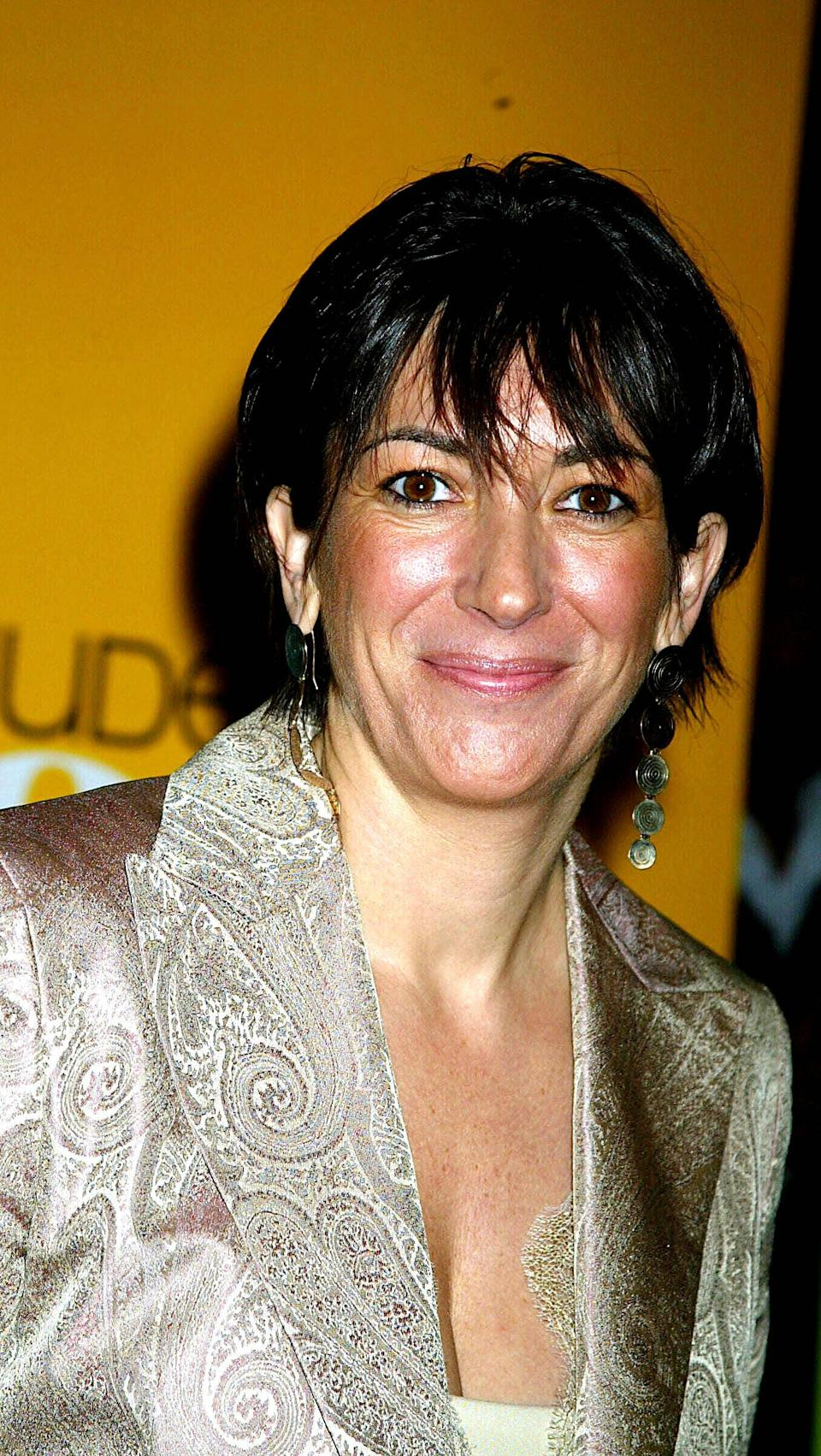 Ghislaine Maxwell pictured in New York in 2004 (Photo: Globe / MediaPunch/MediaPunch/IPx)